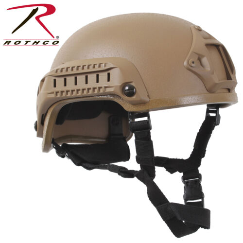 Coyote Brown ABS Base Jumping Airsoft Helmet Paint Ball Helmet Rothco 1894
