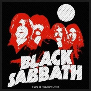 BLACK-SABBATH-Patch-Aufnaeher-Red-portraits-10x10cm