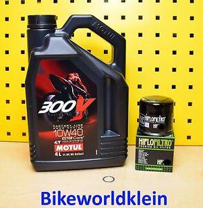 HONDA-VTR-1000-F-SC36-4L-OLIO-Filtro-Olio-anno-di-cost-97-02-Motul-300V-10W40