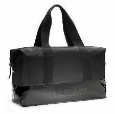Burberry Fragrances GWP Black Handbag Duffle Weekend Overnight Gym Travel NWT