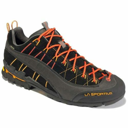 La sportiva Hyper Gtx Black 17MBL// Mountain Footwear Men/'s Approach Shoes