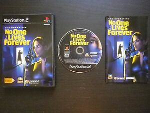 THE-OPERATIVE-NO-ONE-LIVES-FOREVER-JEU-Sony-PLAYSTATION-2-PS2-Sierra-COMPLET