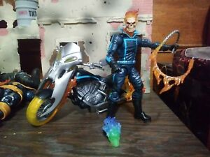 Marvel-Legends-Ghost-Rider-Motorcycle-pack-6-Inch-Custom-Action-Figure