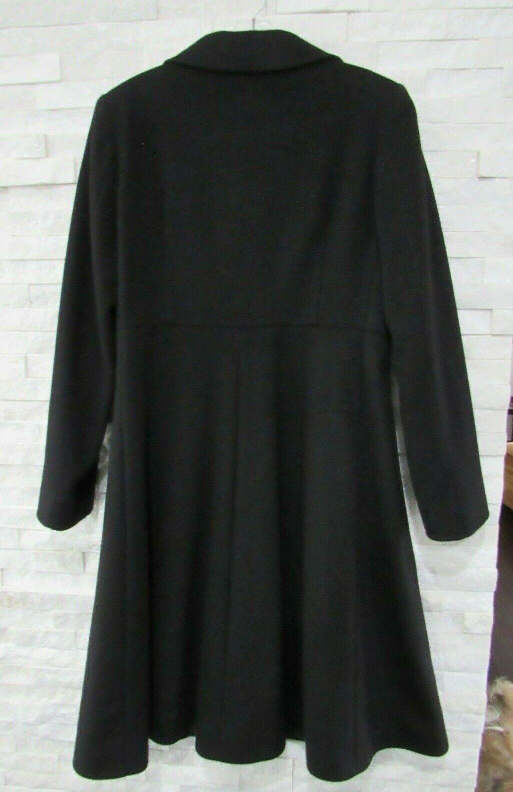 Cinzia Rocca Black Wool Cashmere Princess Seams L… - image 9