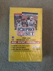 Factory-Sealed-1990-Pro-Set-Football-Series-II-Wax-Box-36-Packs