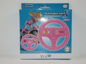 HORI-Mario-Kart-8-Racing-Wheel-Peach-for-Nintendo-Wii-U-and-Wii-NEW