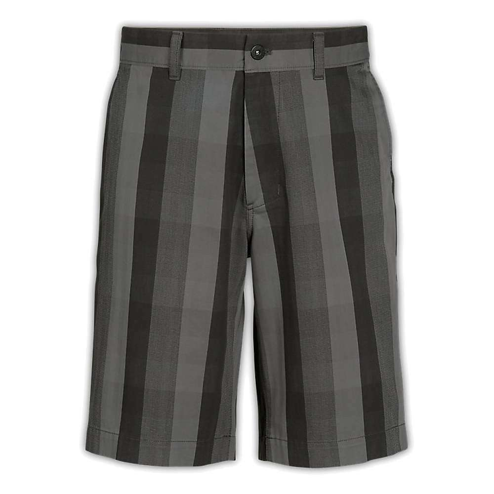 NWT - THE  NORTH FACE Men's 'THE NARROWS PLAID' Asphalt Grey SHORTS Size  36 REG  big discount prices