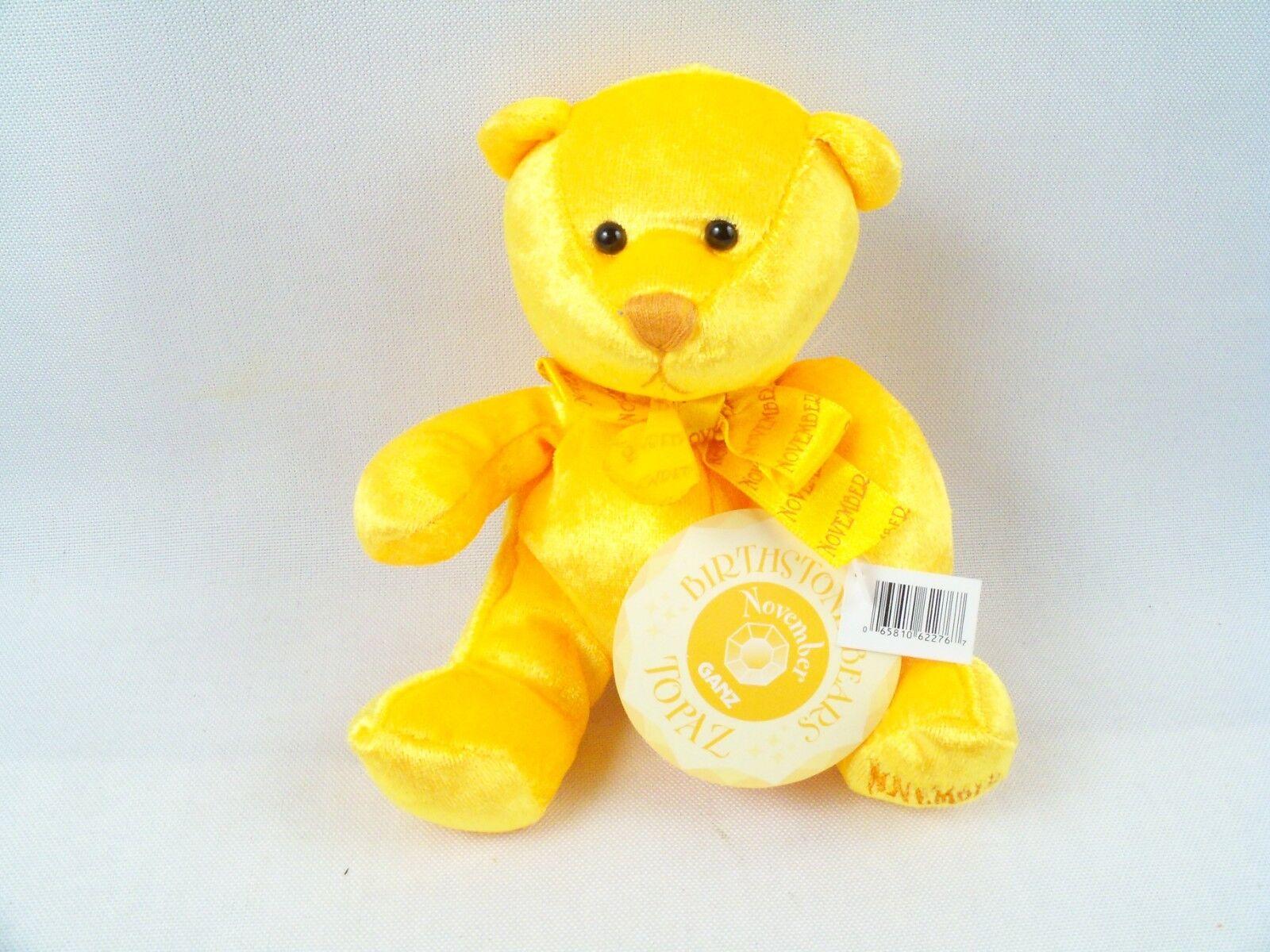"""White Tiger Plush Stuffed Animal TM Ganz Wee Bears 6/"""""""