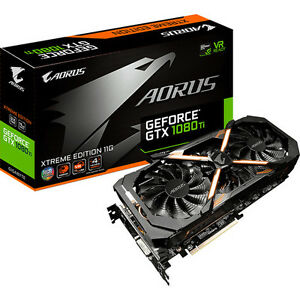 NEW Gigabyte AORUS GeForce GTX 1080 Ti Xtreme Graphics Card...