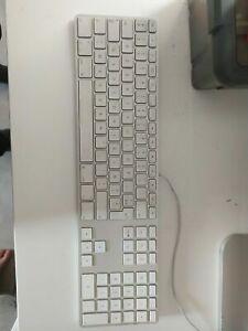 Apple A1243 Clavier USB MB110LL/B Clavier Câblé Avec Fil Original Pour IMAC PC