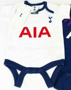 Tottenham Hotspurs Official Baby Home Kit Vest Grow 0 3 Months New 06 Ebay