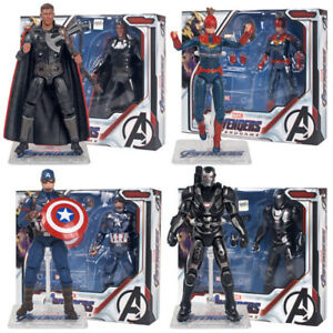 Avengers-Endgame-Marvel-Captain-America-Thor-War-Machine-7-034-Action-Figure-Toys