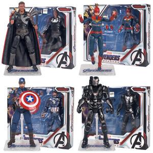 Los-Vengadores-Tacho-Marvel-Capitan-America-Thor-maquina-de-guerra-7-034-accion-figura-Toys