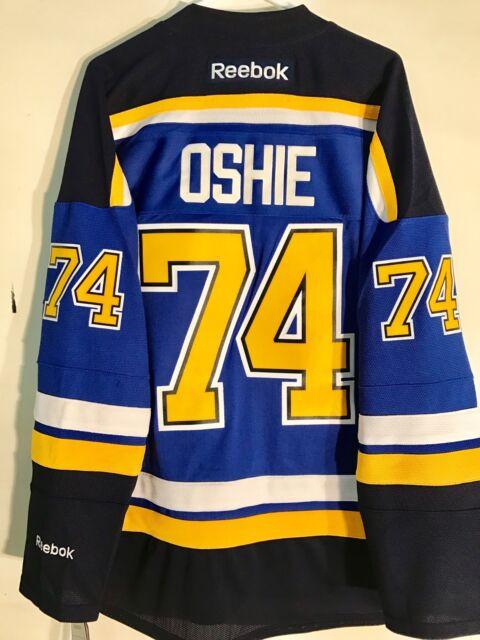 separation shoes 67e94 c24f3 Reebok Premier NHL Jersey St.louis Blues T.j. Oshie Blue Sz XL