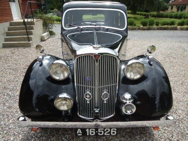 Rover Tourer Benzin 1937 sort