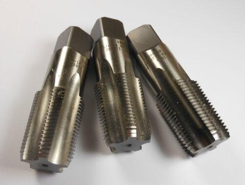 """Pipe Taps 3//4-14 5FL HSS NPTF 3-1//4/"""" OAL 3 Pcs"""