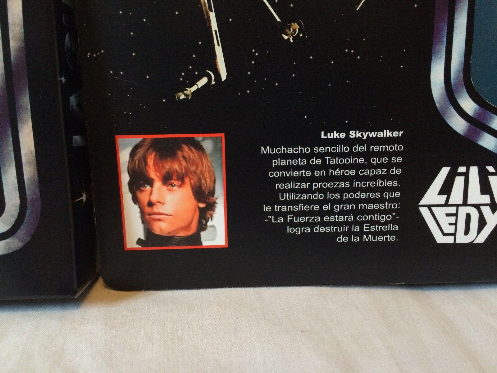Replacement vintage Star Wars 12    lili ledy luke skywalker box + inserts 66070e