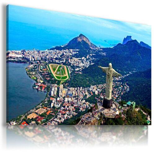 BRAZIL RIO DE JANEIRO  View Canvas Wall Art Picture Large L276 NO FRAME MATAGA .