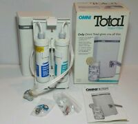 Omni Total Poratble Kitchen Or Bathroom Sink Water Filter Counter 4 Stage