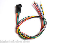 8 Pin NEM 652 DCC decoder socket with trailing pre-wired harness. New UK Stock