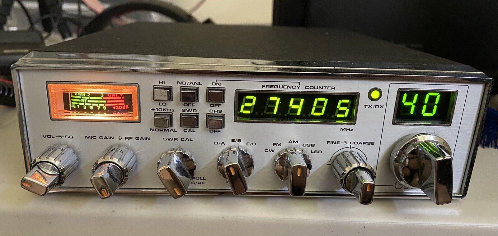 Used Galaxy 2100 CB Radio (Orignal Release 1981) - AM/FM/SSB/CW.