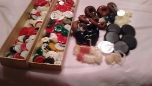 23 Oz Vintage Arts & Crafts Button Colection As Effectively As A Fairy Does Net Weight