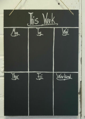 Menu Chalkboard Shabby Chic Blackboard Ornate Large A2 A3 A4 Memo Board