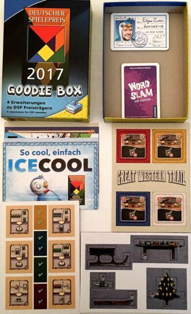 Deutscher Spielepreis 2017 Goodie Box Feast Odin ICECOOL Promo Mini Expansion