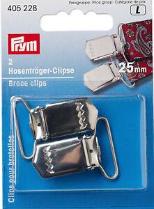 Prym-Hosentrager-Clips-25-mm-silberfarbig-2-St-zum-Annahen-405228
