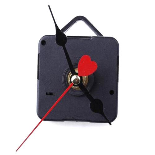 Red Heart Hands DIY Quartz Wall Clock Movement Mechanism Repair Parts DW