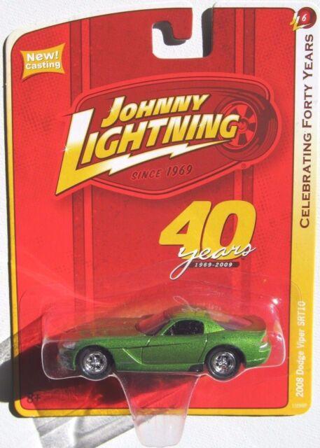 JOHNNY LIGHTNING R6 CELEBRATING 40 YEARS 2008 DODGE VIPER SRT10
