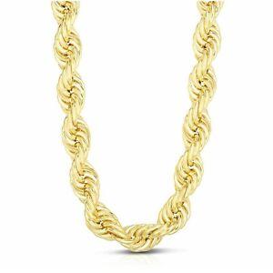 Catena Unisex A Maglia Funetta In Oro Giallo 750 (18KT) (Catena a Corda) 11,16 g