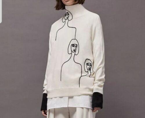 noir Art Deco maigre en fantaisie Top Designer d'hiver 12 blanc tricot wgqzp