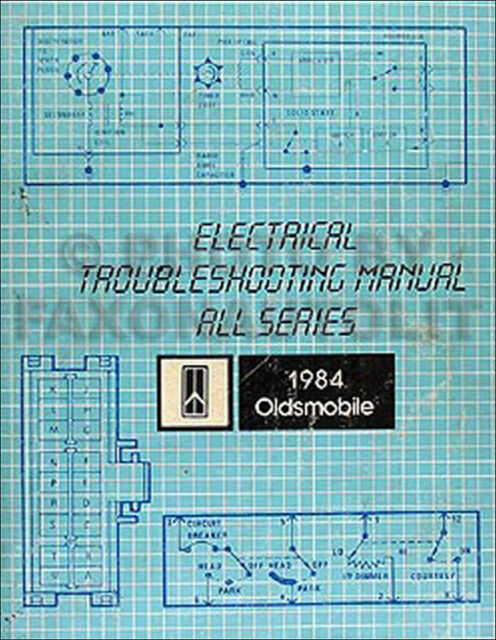 1984 Olds Electrical Troubleshooting Manual Oldsmobile ...