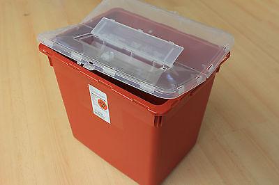 Mutig Covidien 27 Liter Biohazard Mülleimer Mit Klappdeckel Papierkorb üBereinstimmung In Farbe Büro & Schreibwaren