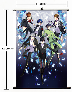 2162 Anime Persona 5 Wall Scroll Home Decor cosplay  A