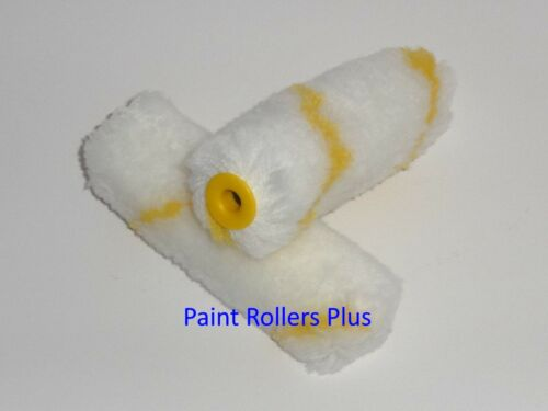 """Mini Paint Rollers 60  4 /"""" Soft WOVEN Mini Rollers"""