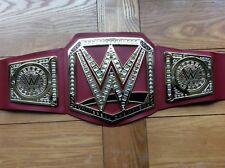 Wwe red universal championship title wrestling belt 2018 design roman finn brock