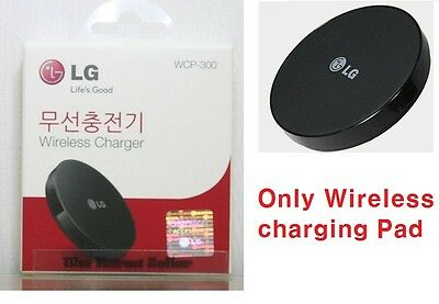 LG Genuine WCP-300 Qi Wireless Charger Pad for LG G3 D850 D855 D851 G4 H815 F500