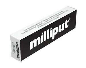 10-X-Paquets-Milliput-Noir-2-Piece-Epoxy-Mastic-2-Baton-113g-Paquet