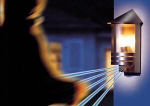 Applique Lampe extérieure avec détecteur Lanterne de jardin Steinel ...