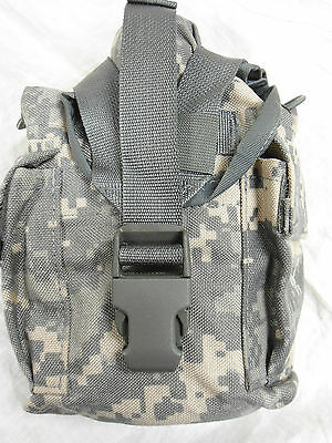 1 ACU DIGITAL MOLLE II GEN W//O CANTEEN USED PURPOSE CANTEEN OR UTILITY POUCH