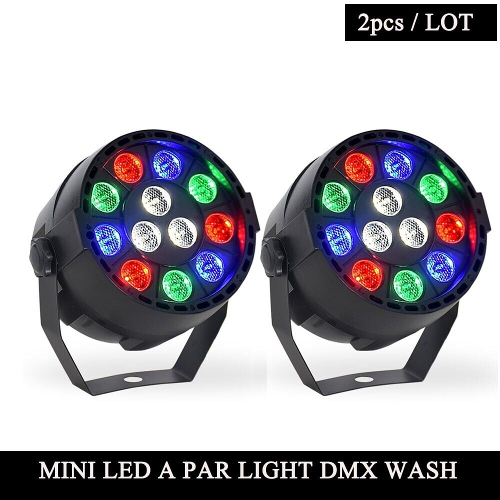 Disco Led Lights Home Entertainment Party Stage Beam Lighting Club Effects 2Pcs