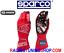 GUANTI-AUTO-SPARCO-EVO-RG-7-OMOLOGATI-FIA-RACING-GLOVES-HANDSCHUHE-red