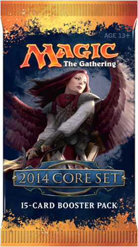 Magic the Gathering 2014 Core Set Factory Sealed Booster Pack