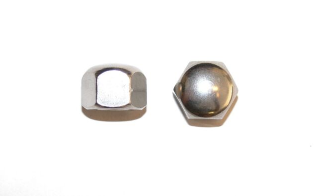 Domed Cap Nuts M4 5 6 8 Stainless Steel A4 Low Form DIN 917 Cap Nut 10 M8