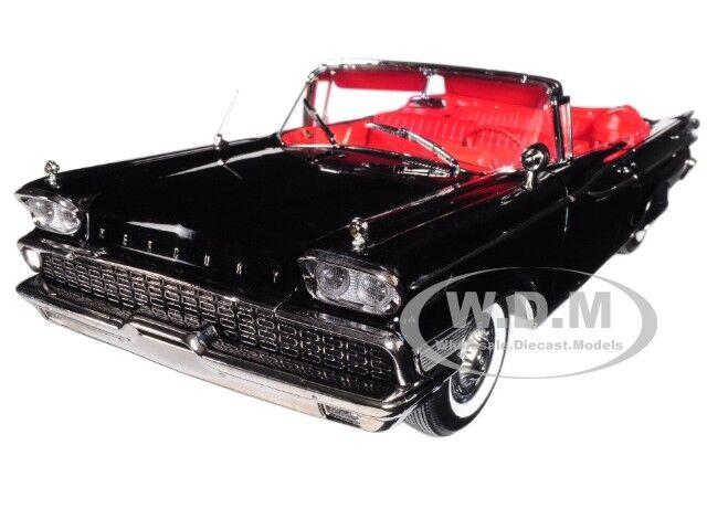 1959 MERCURY PARK LANE open convertible noir 1 18 Platinum Edition SUNSTAR 5153