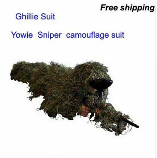 Jagd auf Camouflage Camo Ghillie Sniper Paintball Yowie Army Military Grass