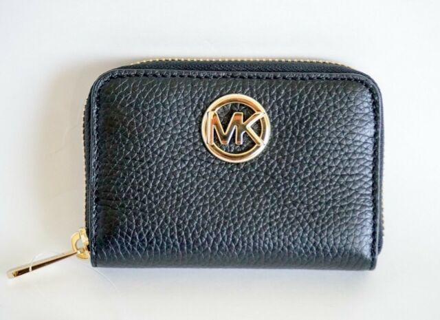 f3d77c992bd8 Michael Kors Zip Around Coin Purse/case Leather Mulberry for sale ...