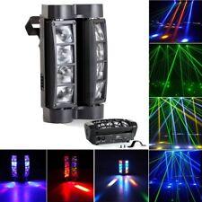 80W LED Moving Head Light DMX-512 RGBW Stage DJ Beam Spider Lighting Party  sc 1 st  eBay & Blizzard Lighting Blade QFX Moving Head LED RGBW Stage Beam Light ... azcodes.com